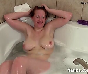 Red Haired Yanks Babe  Ginny Denmarc Playing
