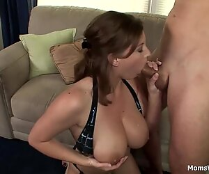 MILF With Big Lovely Titties Hard Fucked