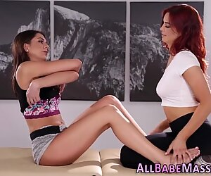 Massaged babe sixtynines lesbian