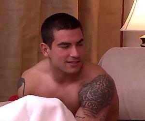 Amazing hunk Vadim Black aggressively drills Billies anus