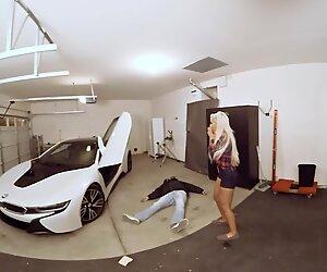 VR PORN-Hot Milf Fuck The Car Theif