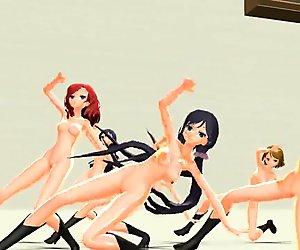 3D MMD Sweet Devil REMIX - LoveLive!