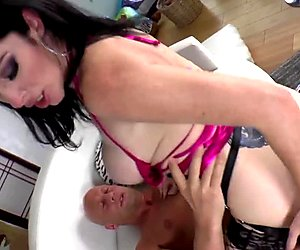Bigtits domina fingers her sub lover
