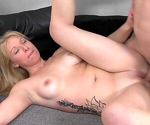 Home grown blonde MILF wants a taste of some big dick