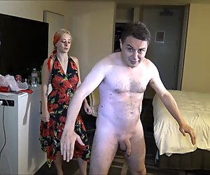 Ballbusting video of Lilith Astaroth with Andrea Dipre.