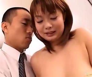 Asian gettin drilled