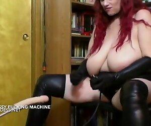 Big tits hairy pussy hooker machine fucked