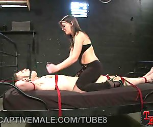 Captive Male Gets Tormented