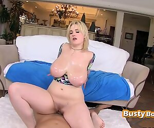 HORNY BBW tight pussy NAILED hardcore by WHITE monstercock
