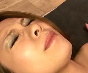 Luscious Japanese babe Miharu Kai hops on horny dude in cowgirl style