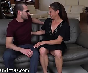 Hot GILF Only Wants The Neighbor's Grandson   s Big Dick