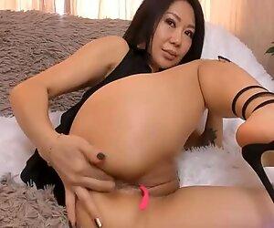 Mature japanese kazakh milf bitch have fun cam show