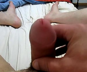 Quick cum with my one ball