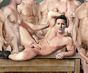 Channing Tatum Sexy/Gay - Try Not to Cum!