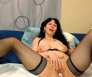 Hot 50 year old MILF teasing on webcam