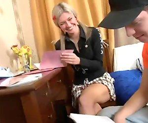 Fresh Semen In Young Babe's Ass