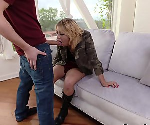 Brad starts fucking Zelda Morrisons anal with his big cock