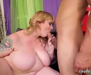 Fat Blob Desires to Fuck Bad