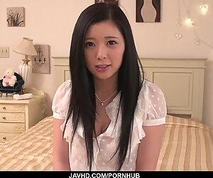 Fantasy sex in her room for sensual Risa Shimizu