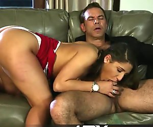HDVPass Abella Danger Teases in a Sexy Red Dress