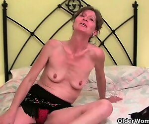 Granny knows darn well that her pussy will get you hard