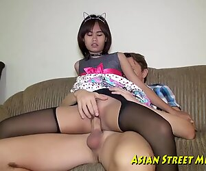 asian Girlette Does ass fucking For enjoy Money And Health