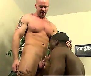 Black gay hairy penis movies JP gets down to service Mitch's rigid