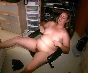 Kaitee Banggs, thick MILF body, big ass natural tits, hairy BBW
