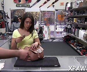 Tasty brunette minx Lilly Hall gets fucked deep