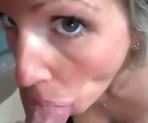 Milk mustache for my wife