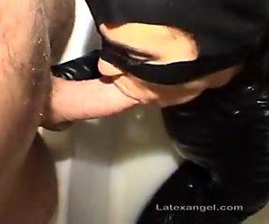 Bizarre latex mother hardcore blowjobs cumshots