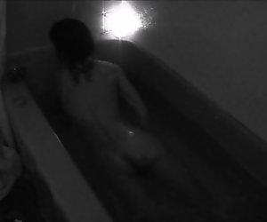 caught masturbating in the tub