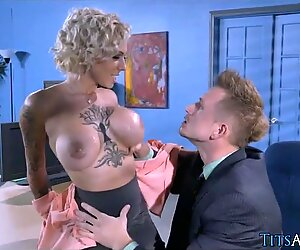 Big Blonde Tits at the  Agency