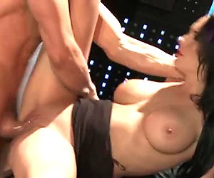 Giant and thick cock tears apart Alektra Blue's soaking pussy