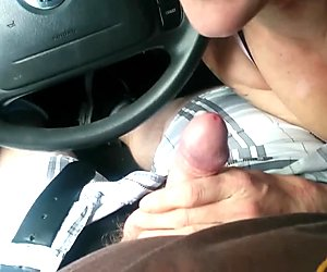 Amazing blowjob from girl picked up on the street