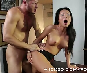 Wicked - Asa Akira gets torn up in the office