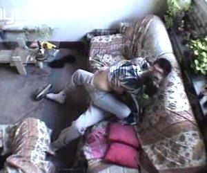 Dude installed hidden camera before fucking his sexy girlfriend