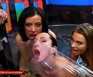 Piss and Cum for Three Super Hot Sluts - GGG Devot