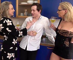 Mature mothers sharing fuck boy
