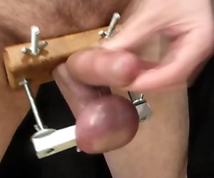 Balls Stretching Makes Me Cum
