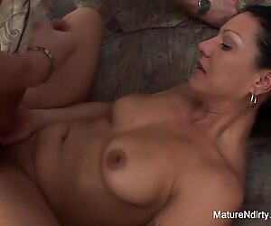 pigtailed grandma humps a younger man