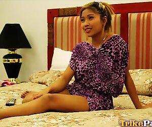 Tiny Filipina get Cum on her Tits