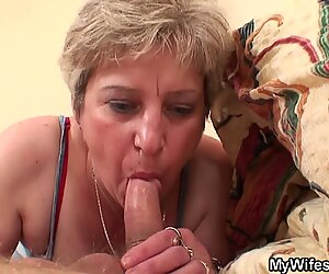 Wife finds old mother and her boyfriend fucking