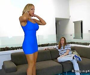 Skinny young guy fucks huge tits Milf