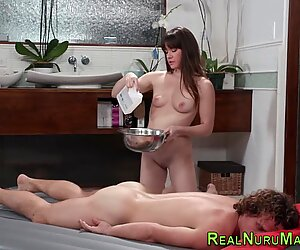 Kinky masseuse gets fuck