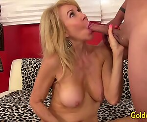 Golden Slut - Granny Erica Lauren Comp 4