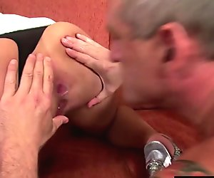 BestGonzo - Cum-hungry Claudia expertly drain two cocks