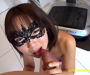 Jav Amateur Hatsume Fucks Whilst Shes On The Phone Wearing Eye Mask