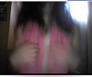 Cachonda en webcam
