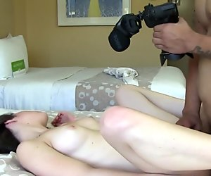 Tattooed casting amateur banged for cash